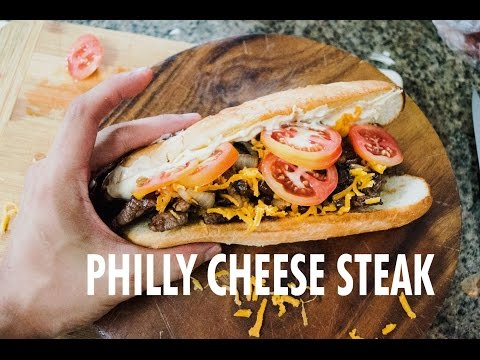 Philly Cheese Steak Sandwich by The Fat Kid Inside