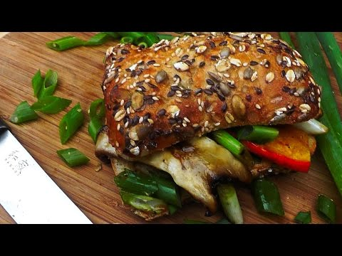 Asiatisches Sandwich Rezept vegan | Der Bio Koch #667