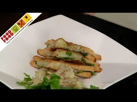Healthy Sprout Sandwich | Food Food India – Fat To Fit | Healthy Recipes