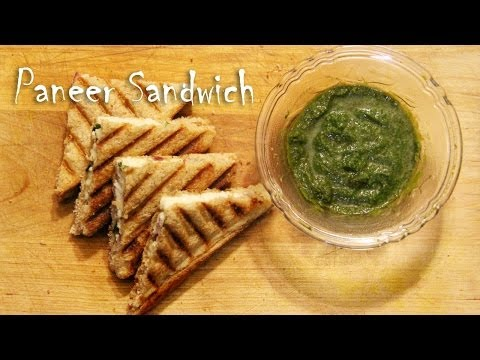 Paneer Sandwich Recipe | foodsandflavorsbyshilpi.com