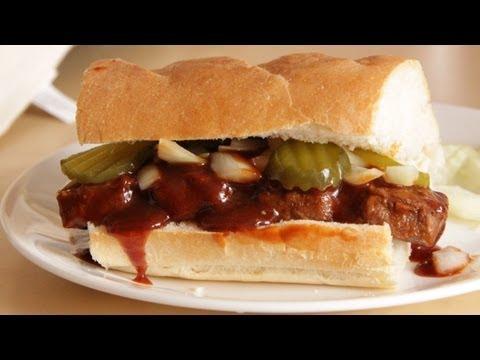 McDonalds McRib Sandwich – Homemade Vegan/Vegetarian