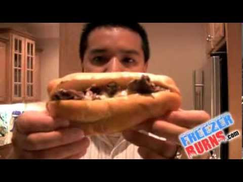 Tony Luke's Frozen Cheesesteak Video Review: Freezerburns