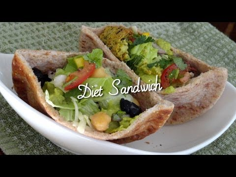 Healthy Sandwich Recipes & Tips… Eating Well by Bhavna – Falafel Beans Diet