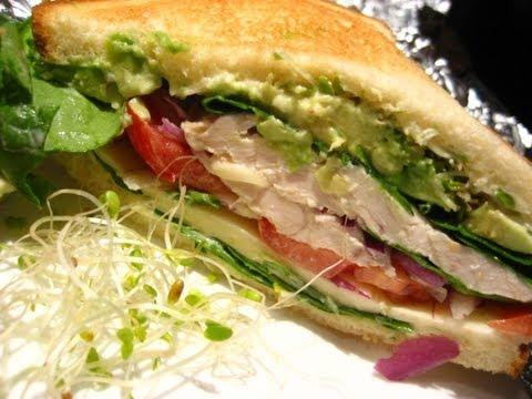 DIY: Healthy Lunch Sandwich