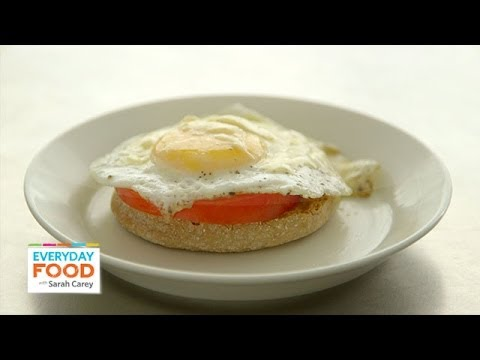 Open-Faced Egg Breakfast Sandwich – Everyday Food with Sarah Carey