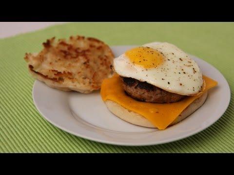 Sausage Egg & Cheese Breakfast Sandwich Recipe – Laura Vitale – Laura in the Kitchen Episode 440