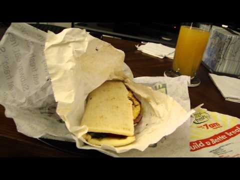 DSP Tries It Ep. 7 – Subway Western and Cheese breakfast sandwich