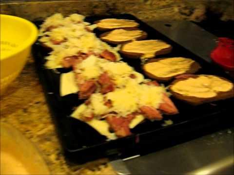Kitchen of Chaos 48: Grilled Reuben Sandwiches!!