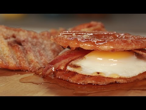 The ULTIMATE Breakfast Sandwich… with Donut Chips!