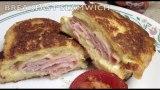 Breakfast Slamwich Fried Ham Sandwich video recipe cheekyricho