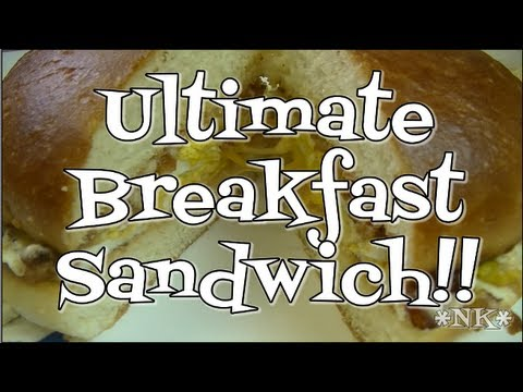 The Ultimate Breakfast Sandwich!  Noreen's Kitchen