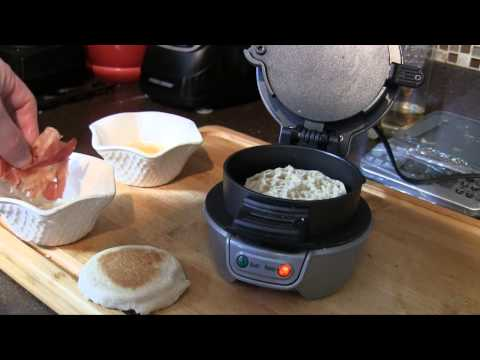 Hamilton Beach Breakfast Sandwich Maker Test & Demo | Damn Good Reviews