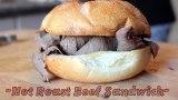 Hot Roast Beef Sandwich – 4 Ingredient Meals