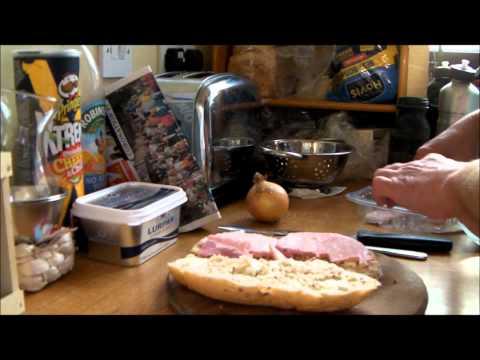 How to make a ham & onion sandwich