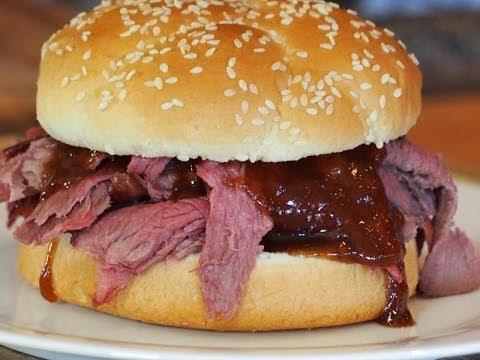 Kentucky Roast Beef Sandwich Recipe! (Pit Barrel Cooker)