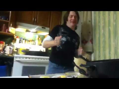 Making a ham sandwich
