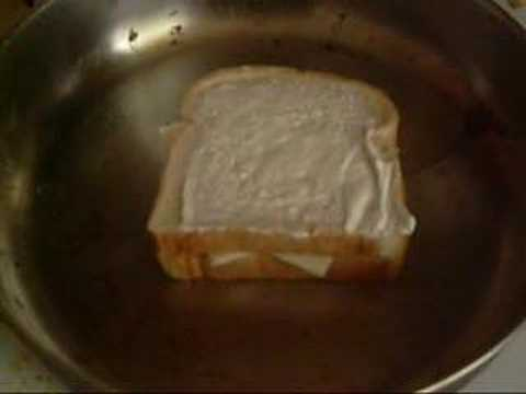 Making a Grilled Cheese Sandwich