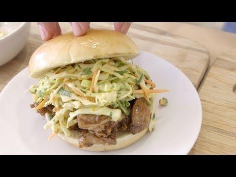 45 Minute Pulled Pork Sandwich Recipe! | Pressure Cooker Pulled Pork!