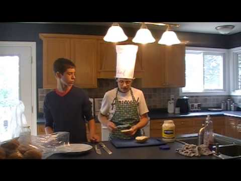 Cooking with Carter and Kyle – How to make a ham sandwich