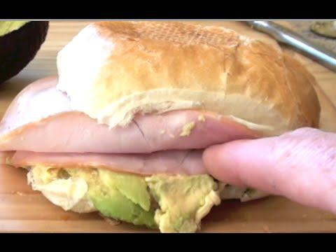 HAM AND AVOCADO SANDWICH RECIPE Gregs Kitchen