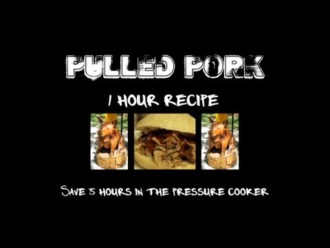 How to Make Pulled Pork – Pressure Cooker Pulled Pork Recipe in 1 Hour