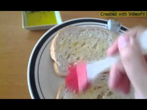 How to make a ham / chicken grilled cheese sandwich