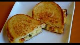YUMMIEST Grilled Cheese Ever: Gourmet Grilled Cheese Sandwich Recipe