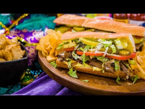 Home & Family – Making a Traditional Roast Beef Po Boy