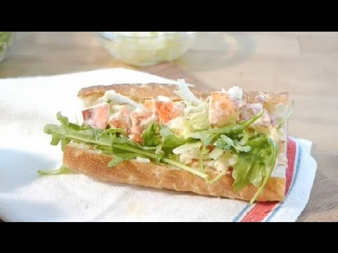 How to Make a Lobster Roll Out of a Lobster Tail : Summer Cuisine