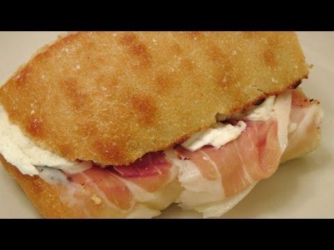 Prosciutto and Mozzarella Sandwich – My Favorite – By Laura Vitale – Laura in the Kitchen Ep 158