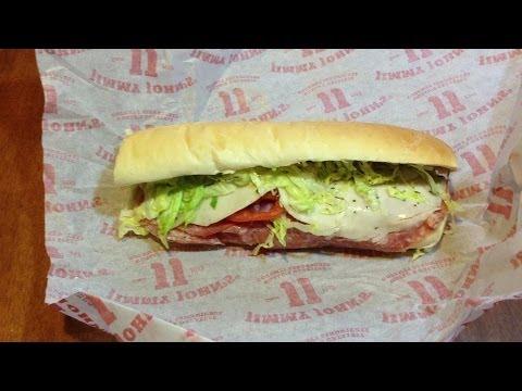 Review: Jimmy John's #5 Vito 8″ Italian Sub