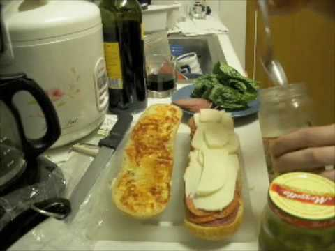 How to make an Italian Sandwich