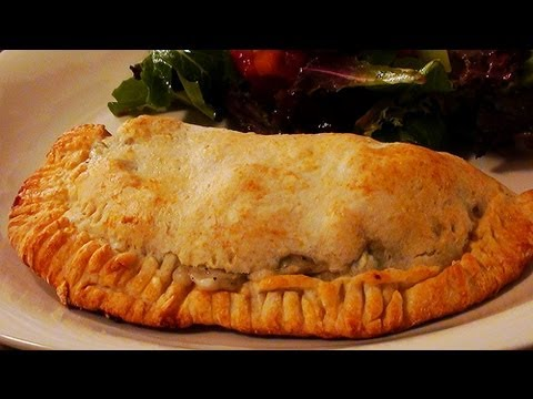 How to Make Chicken Stew in a Biscuit Pocket