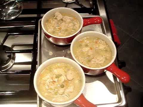 Chicken with Biscuits Recipe