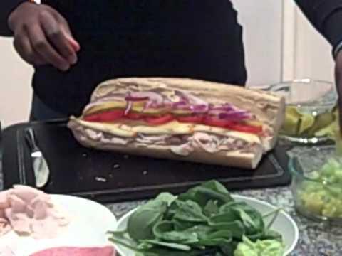 Nikki's Famous Sandwich Shop – How to Make A Deli Sub Sandwich