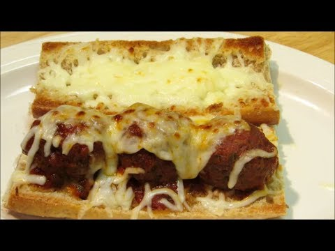 How to make Italian Meatballs – Meatball Sandwich – The Wolfe Pit