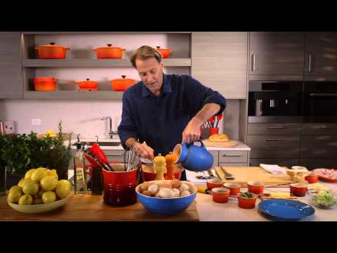 Le Creuset Croque Madame Recipe by Taste Five Media / Taste 5 Media w Michael Ruhlman