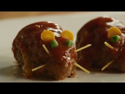 Halloween Recipes – How to Make Meatloaf Rats