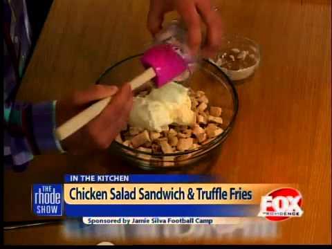 Cooking: Chicken Salad Sandwich & Truffle Fries