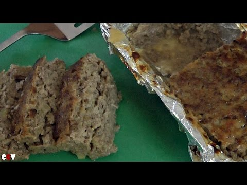 Easy Meatloaf Recipe – How To Make Meatloaf – Apple Meatloaf Recipe