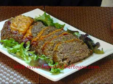 How to make Cheeseburger Meatloaf