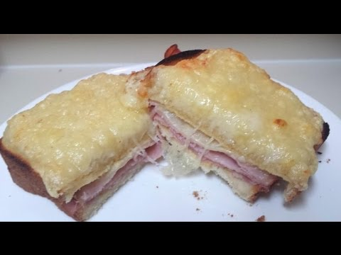 How to make a Croque Monsieur Sandwich- Cesy Can Cook- Cesarina Acosta