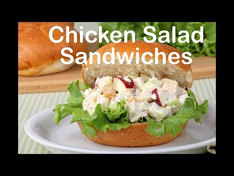 How to Make Chicken Salad with Apples & Walnuts