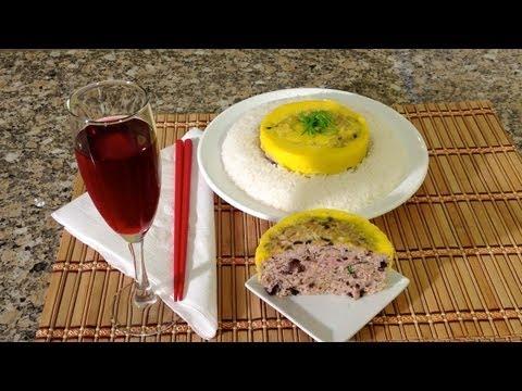 Vietnamese Meatloaf Recipe-Cha Trung Hap-How To Make Meatloaf-Ground Pork-Vietnamese Food Recipes