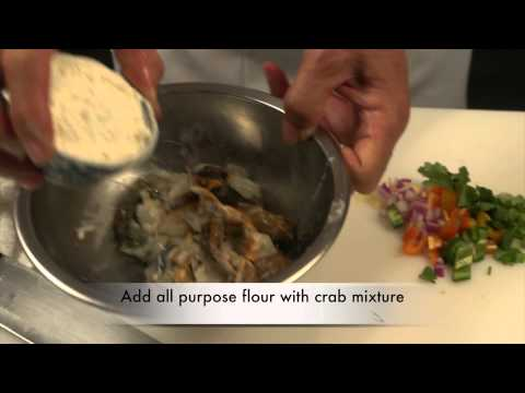 Soft Shell Crab by Chef John Yau of Yau's Place Restaurant.  Promo Video