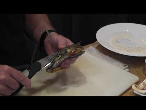 How To Clean A Live Soft Shell Crab w/ Chef Wes Stepp