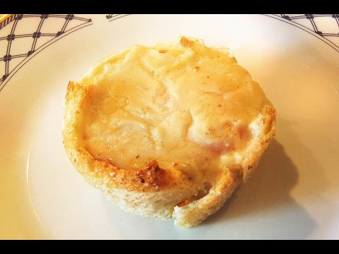 CROQUE MADAME Muffin / French Breakfast or Brunch Recipe