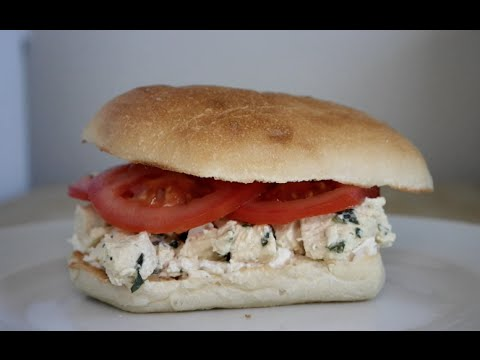 Easy Work Lunches: No Mayo Tarragon Chicken Salad