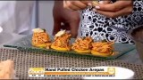 Cooking On The Couch: Hand-Pulled Chicken Arepas