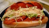 The SANDWICH OF YOUR DREAMS! – Toasted Pepperoni Sub Italian Sandwich. Italian Food